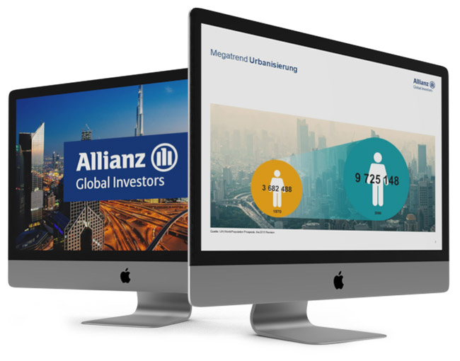 Firmenpräsentation für Allianz GI