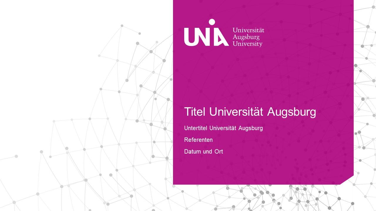 universität augsburg-folienmaster -