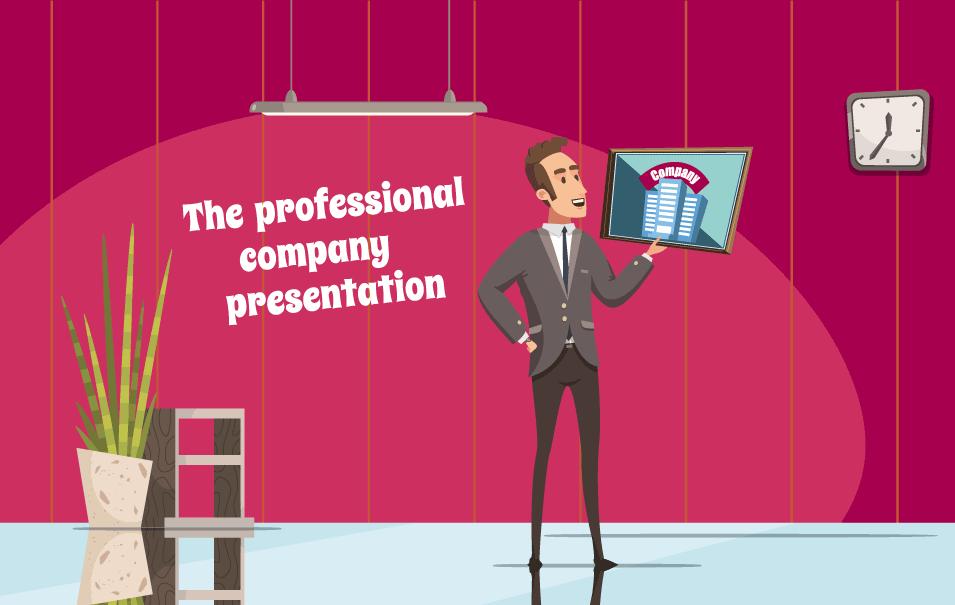 professional company presentation -