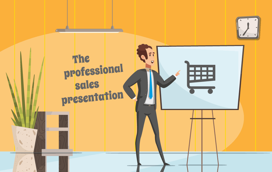 professional sales presentation -